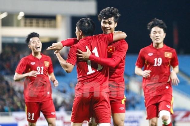 Equipo nacional de Vietnam listo para ronda final de Campeonato Asiatico sub-23 hinh anh 1