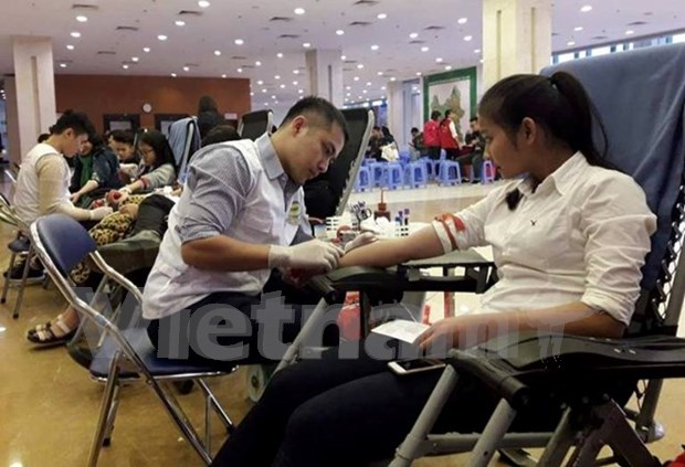Vietnam urge a donar sangre del tipo O hinh anh 1