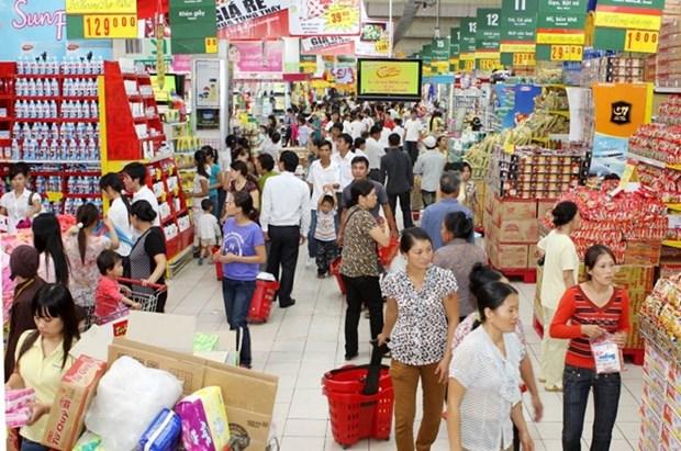 Hanoi garantiza suministro de mercancias para Ano Nuevo Lunar 2018 hinh anh 1