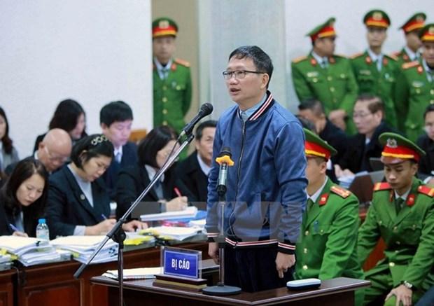 Continua interrogacion a acusados en caso de violaciones acontecidas en PVN hinh anh 1