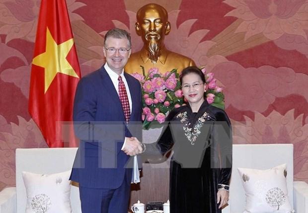 Vietnam y Estados Unidos hacia una cooperacion mas practica y eficaz hinh anh 1