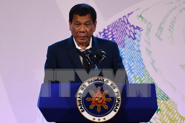 Alto apoyo popular a presidente filipino hinh anh 1