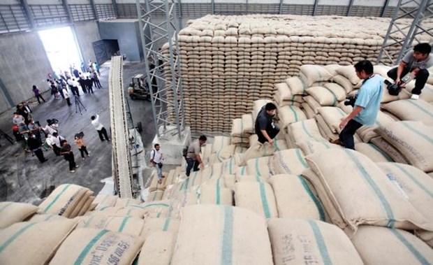 Tailandia planea exportar 9,5 millones de toneladas de arroz en 2018 hinh anh 1