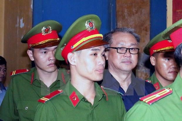 Concluye primera jornada de juicio contra Pham Cong Danh hinh anh 1