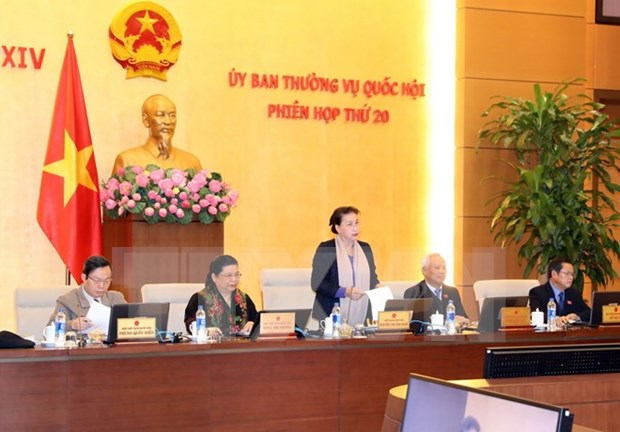 Emprenden reunion 20 del Comite Permanente del Parlamento vietnamita hinh anh 1