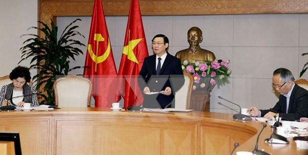Gobierno vietnamita impulsa gestion de la economia nacional en 2018 hinh anh 1