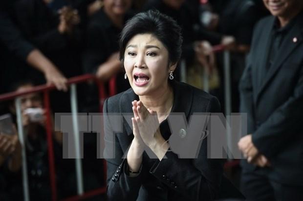 Tailandia confirma presencia de Yingluck Shinawatra en Londres hinh anh 1
