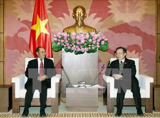 Vietnam y Laos comparten experiencia en elaboracion de leyes hinh anh 1