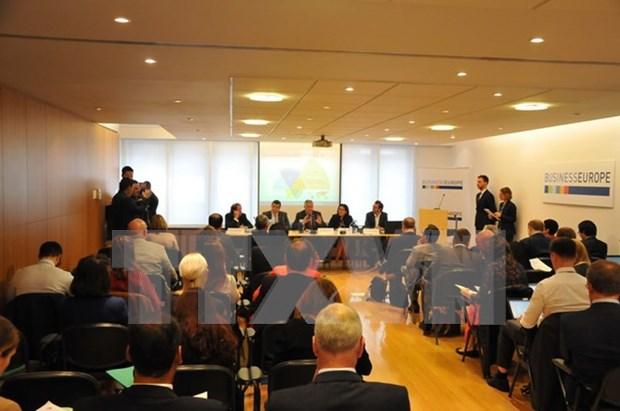 Ciudad Ho Chi Minh y EuroCham buscan oportunidad de impulso de cooperacion multisectorial hinh anh 1