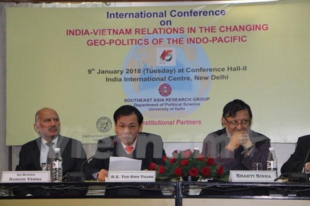 Simposio sobre nexos Vietnam-la India en el cambio de geopolitica Indo-Pacifico hinh anh 1