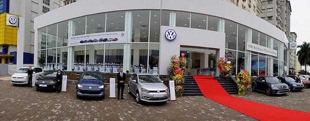 Fabricante de automoviles aleman abre mas salas de exposicion en Hanoi hinh anh 1