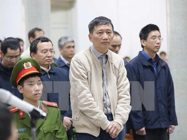 Propone Fiscalia cadena perpetua contra Trinh Xuan Thanh hinh anh 1
