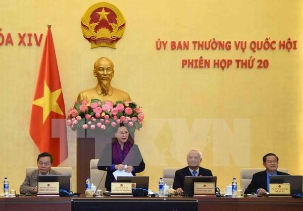 Comite Permanente del Parlamento vietnamita concluye vigesima reunion hinh anh 1