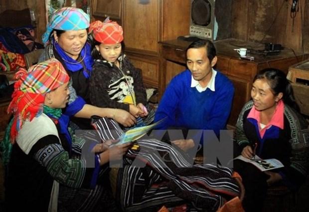 Inician proyecto de empoderamiento a mujeres de etnias minoritarias hinh anh 1