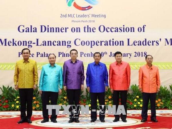 Cumbre de Cooperacion Mekong-Lancang emite Declaracion de Phnom Penh hinh anh 1