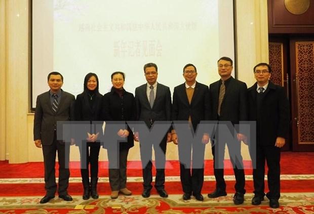 Ano 2017 marca fuerte desarrollo de lazos Vietnam-China, dijo embajador vietnamita hinh anh 1