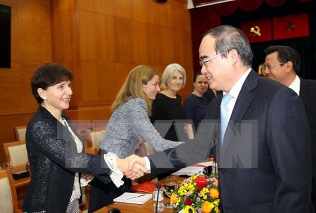 Ciudad Ho Chi Minh busca mayor cooperacion con Union Europea hinh anh 1