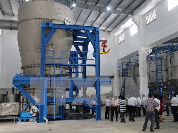 Inaugurada la primera fabrica de fertilizante inteligente en Vietnam hinh anh 1