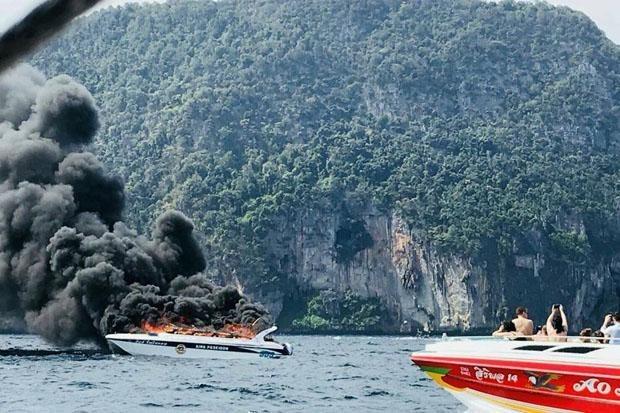 Al menos 16 heridos en explosion de lancha en Tailandia hinh anh 1