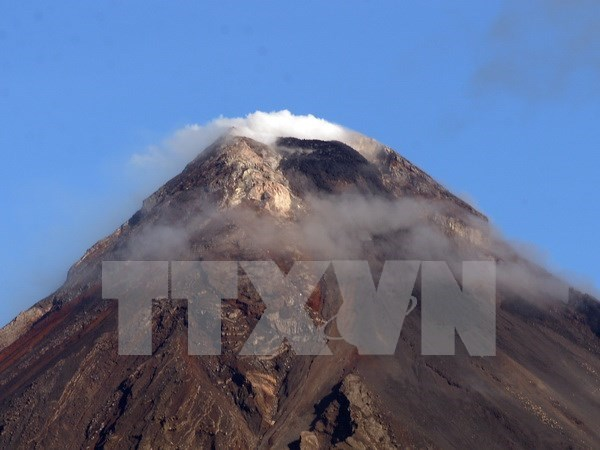 Miles de filipinos evacuados ante posible erupcion del volcan Mayon hinh anh 1