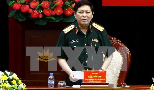 Vietnam fortalece cooperacion militar con Laos hinh anh 1
