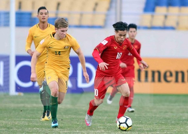 Sorprendidos medios de prensa extranjeros por victoria de Vietnam ante Australia hinh anh 1