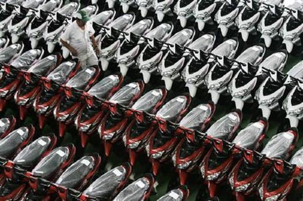 Vietnam registra aumento significativo en venta de motocicletas en 2017 hinh anh 1