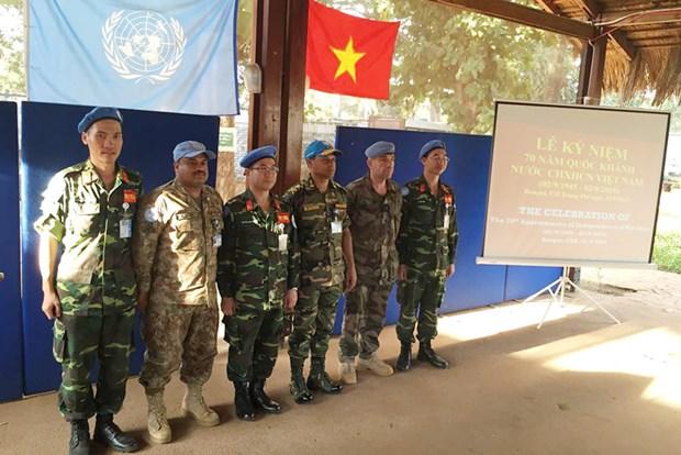 Resaltan aportes de Vietnam al mantenimiento de paz hinh anh 1