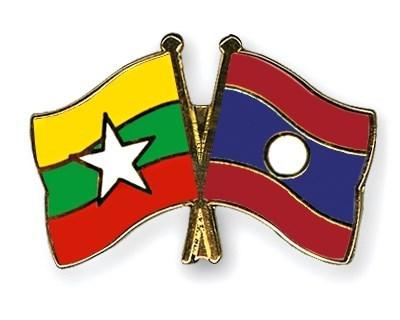 Laos y Myanmar por intensificar cooperacion hinh anh 1