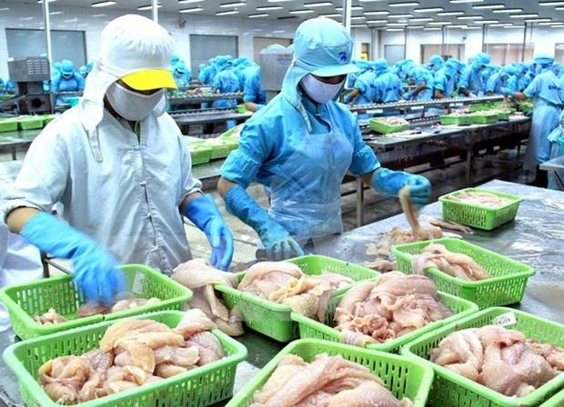Vietnam fija meta para exportacion de productos acuaticos en 2018 hinh anh 1