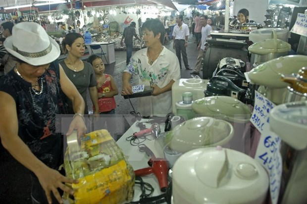 Vietnam y Camboya inician construccion de mercado fronterizo hinh anh 1