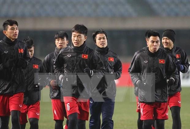 Vietnam busca boleto para cuarto final del Campeonato Asiatico Sub-23 hinh anh 1