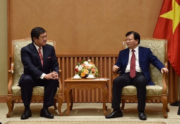 Vietnam y empresa japonesa fortalecen cooperacion energetica hinh anh 1