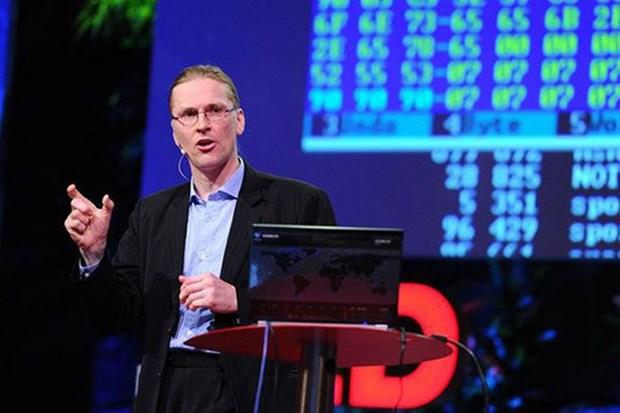 Mikko Hypponen asistira a simposio sobre seguridad de informacion en Vietnam hinh anh 1