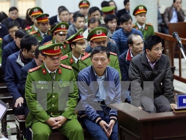 Trinh Xuan Thanh dara sus ultimas palabras en juicio sobre grave delito economico hinh anh 1