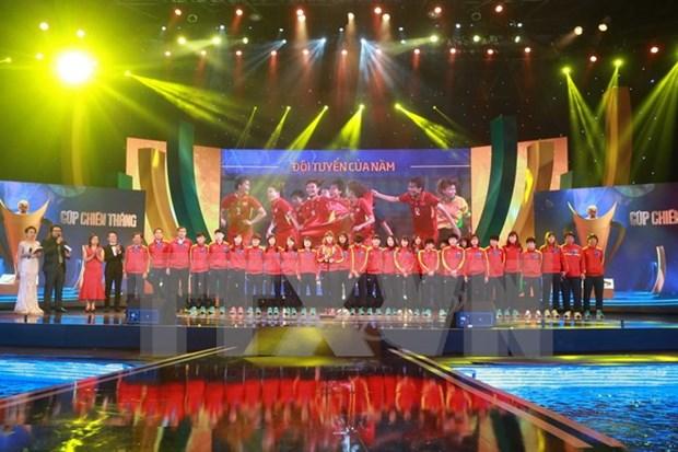 Celebran en Hanoi Gala de Copa de Victoria 2017 hinh anh 1
