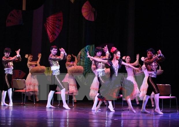 Actuaran en Vietnam ballet Carmen Suite hinh anh 1
