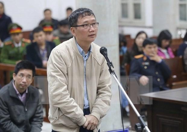 Todos los acusados en caso de PVN expresan arrepentimiento por sus violaciones hinh anh 1