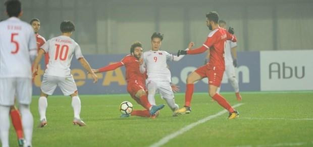 Futbol: Equipo sub23 de Vietnam gana boleto para los cuartos de final hinh anh 1