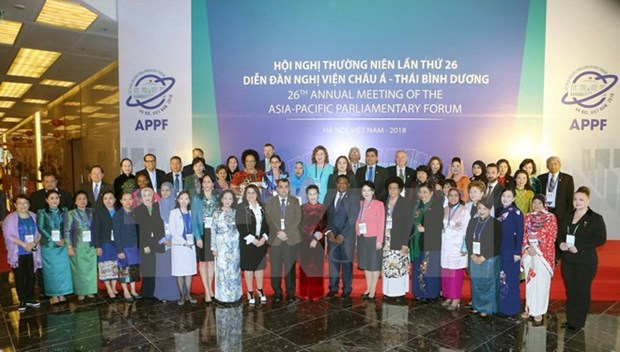 Parlamentarias de APPF debaten sobre igualdad de genero hinh anh 1