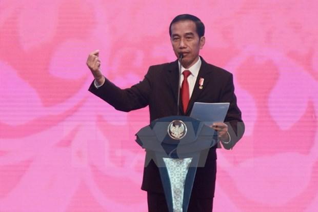 Presidente de Indonesia reorganiza su gabinete hinh anh 1