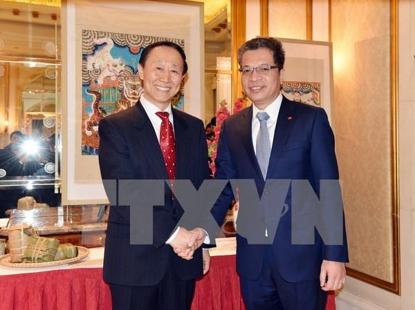 Conmemoran en Beijing aniversario 68 del establecimiento de relaciones diplomaticas Vietnam- China hinh anh 1
