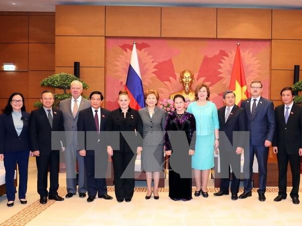 Vietnam prioriza el fortalecimiento de la asociacion con Rusia hinh anh 1