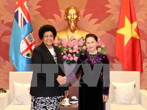 Presidenta del Parlamento de Vietnam destaca participacion de Fiji en APPF- 26 hinh anh 1