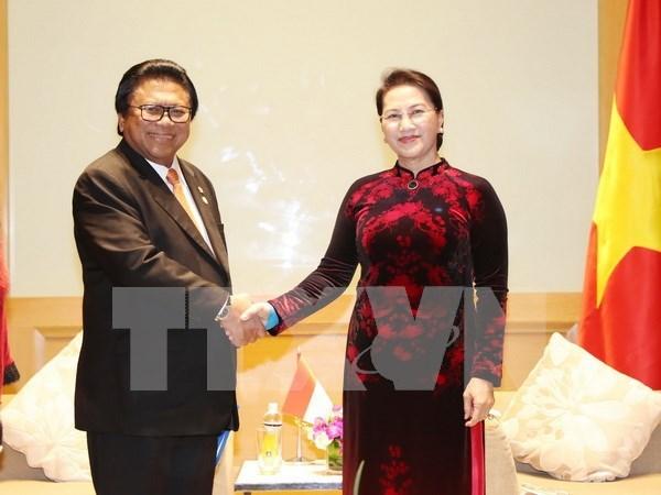 Vietnam valora contribucion de Indonesia al mantenimiento de la paz regional hinh anh 1