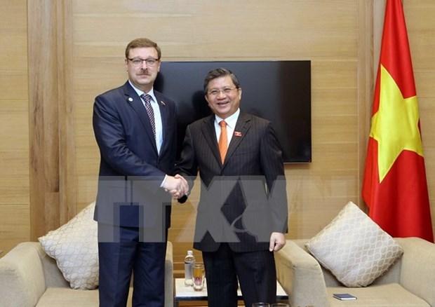 Vietnam y Rusia aumentan intercambio de actividades legislativas hinh anh 1