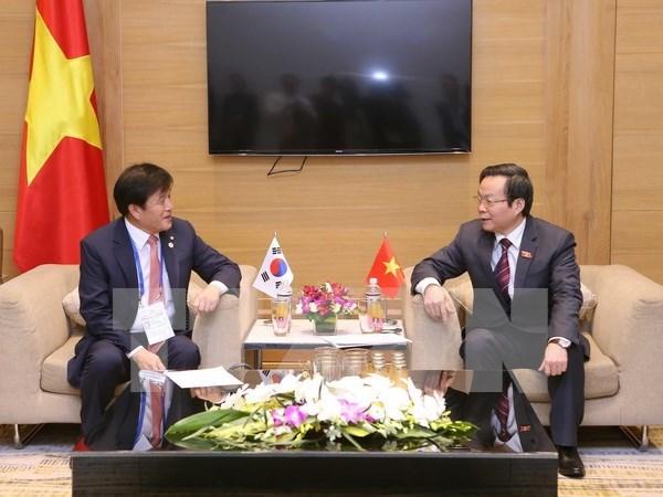 Parlamentos de Vietnam y Sudcorea estrechan vinculos hinh anh 1