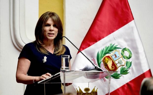 Vietnam felicita a nueva ministra de Relaciones Exteriores de Peru hinh anh 1