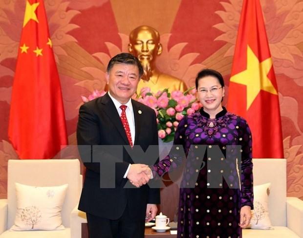 China aboga por exito de XXVI Reunion Anual del Foro Parlamentario Asia- Pacifico hinh anh 1