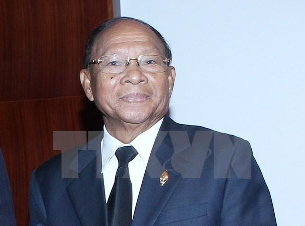 Partido gobernante de Camboya traza plan politico quinquenal hinh anh 1